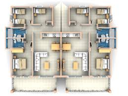 House Plan Three Room Apartment Neoteric Design 15 Images About Bedroom  House ... 3