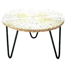 ikea wicker ottoman round rattan coffee table white wicker e table round outdoor ottoman for marvelous