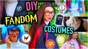 diy fandom last minute costume ideas and easy you