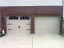 Plain Garage Doors Inviting Faux Carriage Door Hardware Decorative