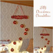 diy easy to make chandelier