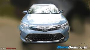 new car launches for 2015Toyota Camry facelift spied in India Update Now launched for 288