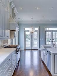 good blue paint color for kitchen. benjamin moore woodlawn blue hc-147 #benjaminmoorewoodlawnblue good paint color for kitchen
