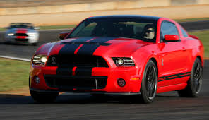 Race Red 2013 Ford Mustang Shelby GT-500 Coupe - MustangAttitude ...