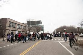 Youths march against Detroit schools' suspension policies; call it ...