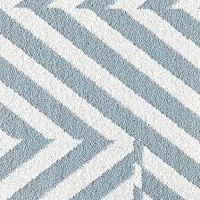 blue geometric rug rugs ideas white black and wool