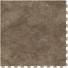 perfection floor tile natural stone 1 piece 20 in x 20 in sandstone loose lay luxury vinyl tile