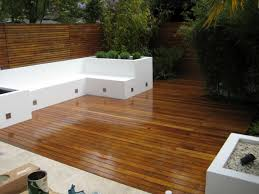 garden decking ideas in large dimension for a perfect place of tea time in your house