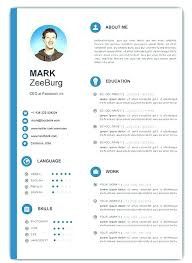 Resume Templates Word Download Magnificent Free Downloadable Resume Template Free Downloadable Resume Templates