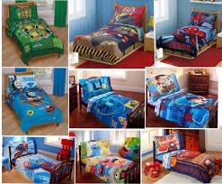 4pc Boys TODDLER BEDDING SET Comforter+Sheets Bed in a Bag Crib ... & 4-pc Boys TODDLER BEDDING SET Comforter + Sheets Childs Bed in a Bag Crib Adamdwight.com