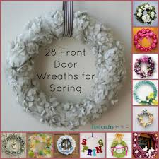 spring front door wreaths28 Decorative Front Door Wreaths for Spring  FaveCraftscom