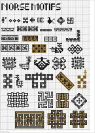 Viking Patterns Mesmerizing Charted Norse Motifs Southwarkstitches