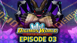 Digimon World Data Squad Ep 3 Rage Caverns Belphemon