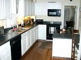 white kitchens with black granite countertops antique white kitchen cabinets with black granite countertops picture design