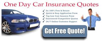 Auto Insurance Quotes Online Simple Get Cheap One Day Car Insurance Quotes Online Faster And Easier