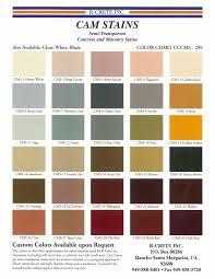 Color Chart R Crete Inc