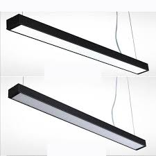 lamp office. Office Lights Hanging Line Light Can Be Stitched Lamp Modern Simple Chandeliers Bar