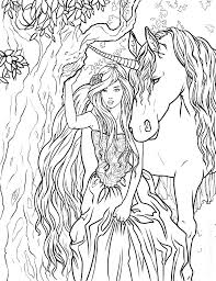 Mythical Creature Coloring Pages