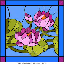 481 best stained glass patterns images on Pinterest | Crafts ... & Water lily composition / Stained glass window Adamdwight.com