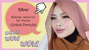 makeup gak pake ribet l tutorial makeup natural buat pemula