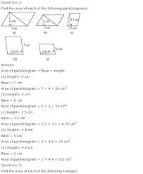 NCERT Solutions for Class 7th Maths Chapter 11 – Perimeter and ...