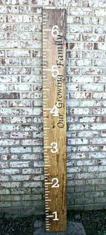 wooden wall growth charts personalized wooden growth chart astonishing personalized wall growth chart decent personalized growth