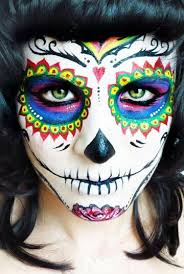 please like sharehere is sugar skull for you used water based pro face body makeup paint