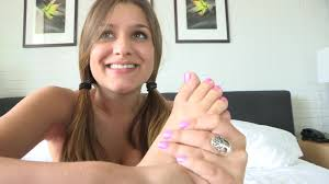 Young FTV Alexia Sucking her Toe Online videos. Masturbating.