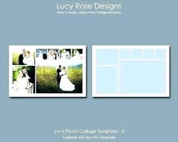 4 X 6 Photo Collage Template Pic Picture Free