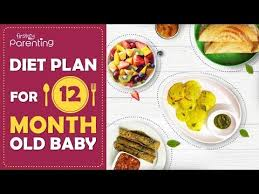 12 Months Old Baby Food Chart 1 Year 12 Months Old Baby Food Chart Along With Recipes