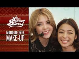 pony s beauty diary monolid eyes makeup with eng sub