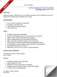 Baby Sitting Resume Fascinating Red Cross Babysitting Resume Template Kor44mnet