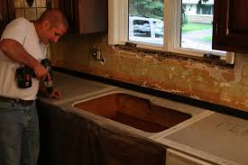 Photo 1 of 7 Trendy Concrete Countertops Poured In Place (good Diy Concrete  Countertops Poured In Place #1