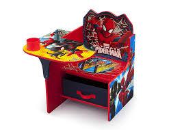 Kids Desk With Storage Amazoncom Delta Children Chair Desk With Storage Marvel Spider