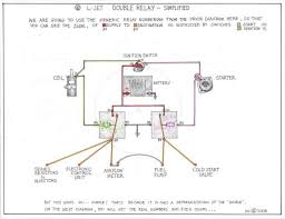 double relay article itinerant air cooled alas it cannot be so simple you will also see only little adherence to the german electrical system numbering conventions at the double relay itself