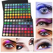 fortan 120 colours of the shadow of eye of the eye shadow aesthetic of make up 01 amazon co uk beauty