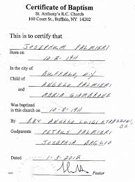 Birth Certificate Get A Copy Of Birth Certificate Ny New How To An