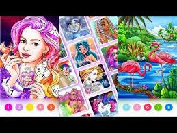 Pick a color and sing (to the. Coloring Fun Color By Number Games Android Gameplay Youtube
