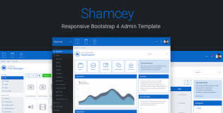 Style Template Shamcey Metro Style Bootstrap 4 Admin Template By Themepixels