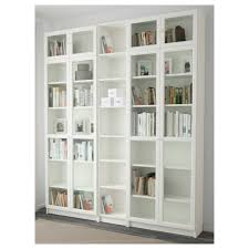 bookcases billyoxberg bookcase white cm ikea astonishing photo ideas with drawers plans storage cabinet glass doors