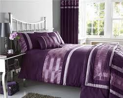 king size duvet set luxury bedding plum satin pintuck king quilt cover bed set