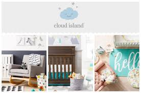 target is launching a new exclusive baby brand called cloud island the line includes nearly 500 items from nursery décor bedding bath and layette