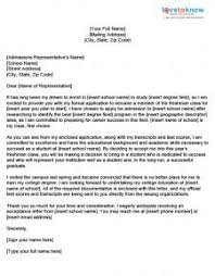 Letters Of Application College Application Cover Letter Examples Lovetoknow