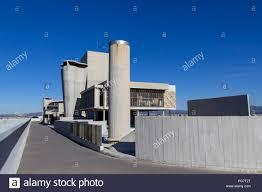 Cité Radieuse Unité D Habitation Terrasse De Toit Le Corbusier