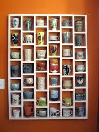 coffee mug shelf organizer cabinet storage ideas