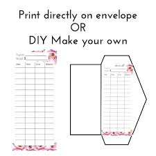 Template To Make An Envelope Design Coreldraw Your Own Word Ipad