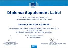 diploma supplement zertifikat