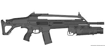 Scar Gun Coloring Page 20