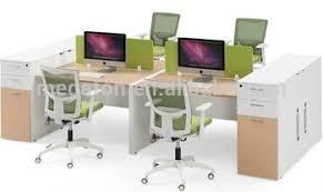 office workstation desks. Fashion Design Wooden Cubicle 4 Person Office Workstation Desks(FOH-FZ15-2A) Desks