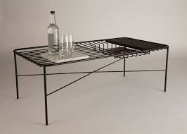 wire coffee table. 10 Of 10; George Riding\u0027s Wire Series Table Coffee